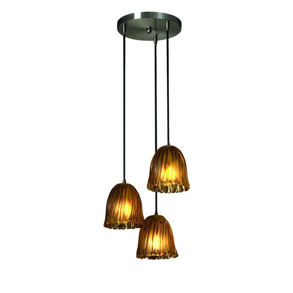 3 light cluster pendant hand blown glass mini 3light cluster pendant 1ga4a total lighting sales