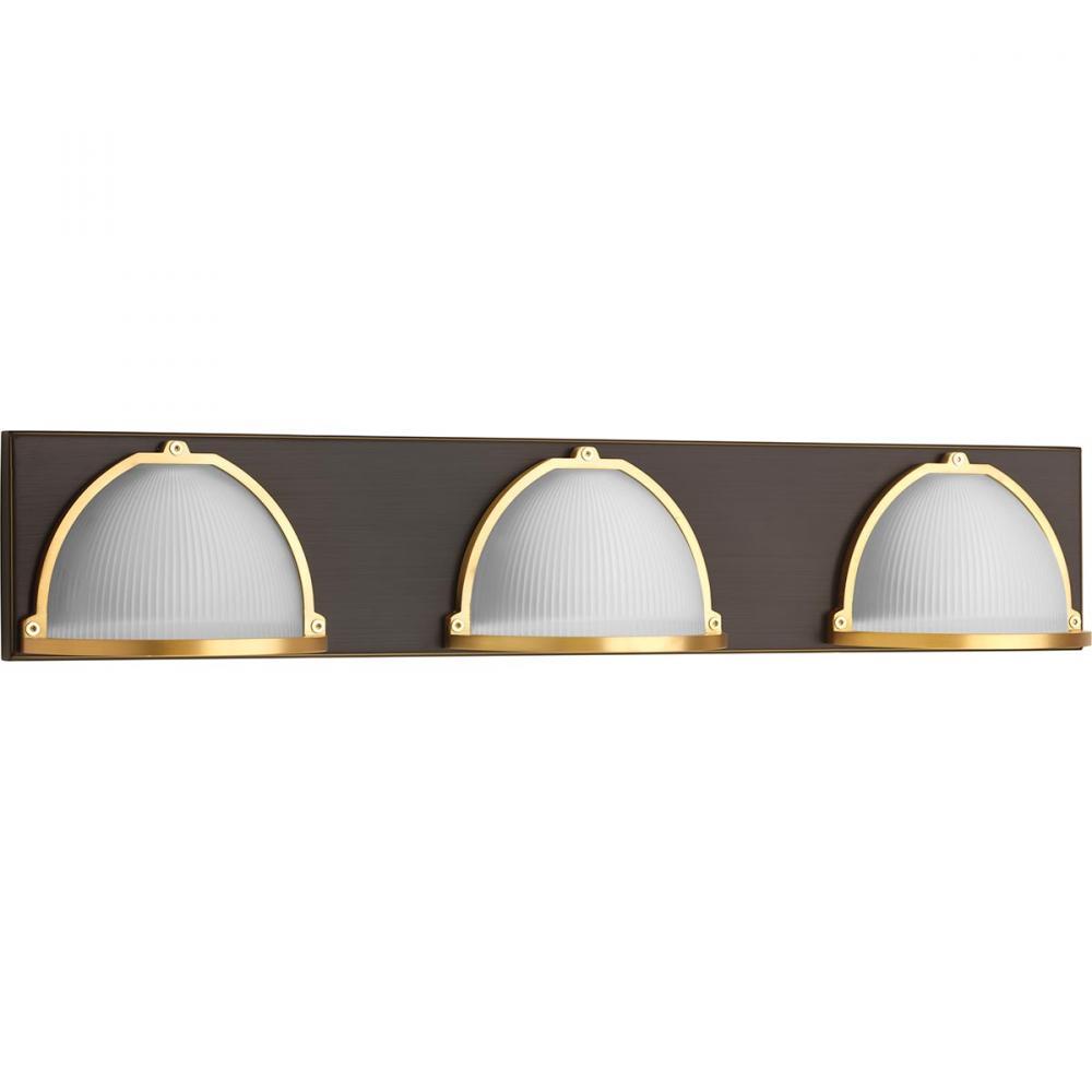 Ponder Three-Light Bath : GAJ1W   Total Lighting Sales
